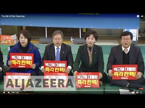 The fall of Park Geun-hye