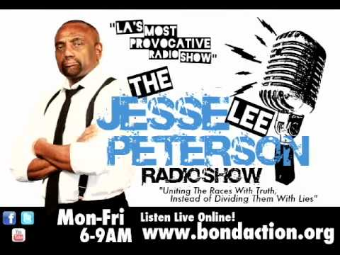Jesse Lee Peterson Radio Show w/ BGTG vs. feminist Pro. Hugo Schwyzer On Women's Role In The Bible