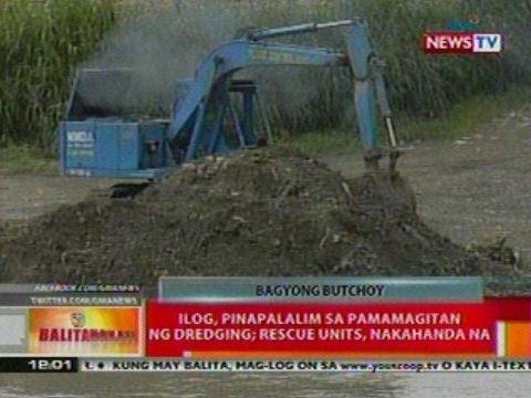 BT: Ilog sa Marikina, pinapalalim sa   pamamagitan ng dredging