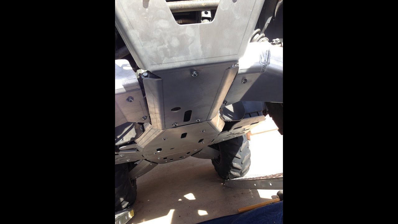 Yamaha Grizzly  Skid Plates