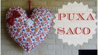 Puxa saco de coração