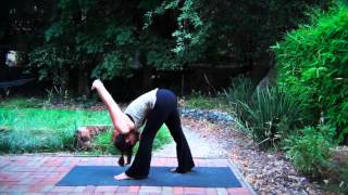 Home Yoga Practice: 40 minute Evening Yoga for Hips and Hamstrings