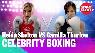 Helen Skelton vs Camilla Thurlow | Celebrity Boxing - Sport Relief 2018 - BBC