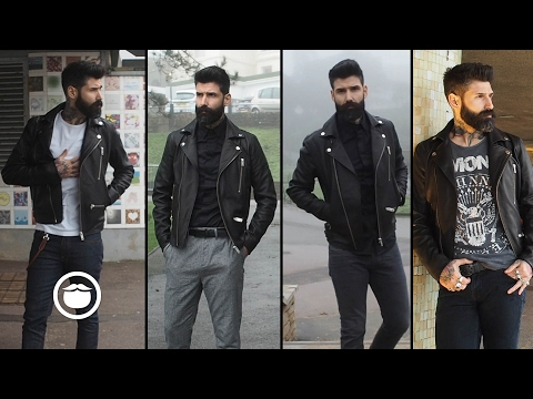 4 Ways to Rock a Leather Jacket | Carlos Costa