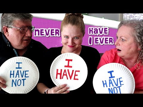 Never Have I Ever With Becca's Mom And Dad! Confessing Embarrassing Stories! / The Beach House