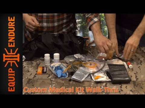 Custom Medical Kits for Wilderness Survival by Equip 2 Endure