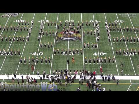 Grambling State University Halftime Fieldshow - 2016 Bayou Classic Game