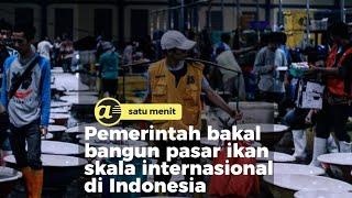 Pemerintah bakal bangun pasar ikan skala internasional di Indonesia