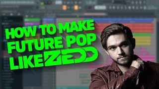 How To Make Future Pop Like Zedd (Free FLP + MIDI + Drums) by ZEƎX
