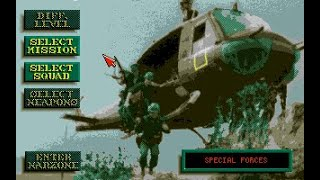 Special Forces (PC/DOS) 2-Missions 1992, Microprose