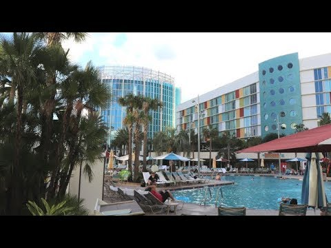 Cabana Bay Beach Resort Vacation Day One