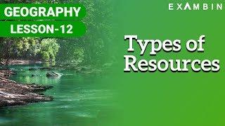 Resources - Types of resources, Uses of resources thumbnail