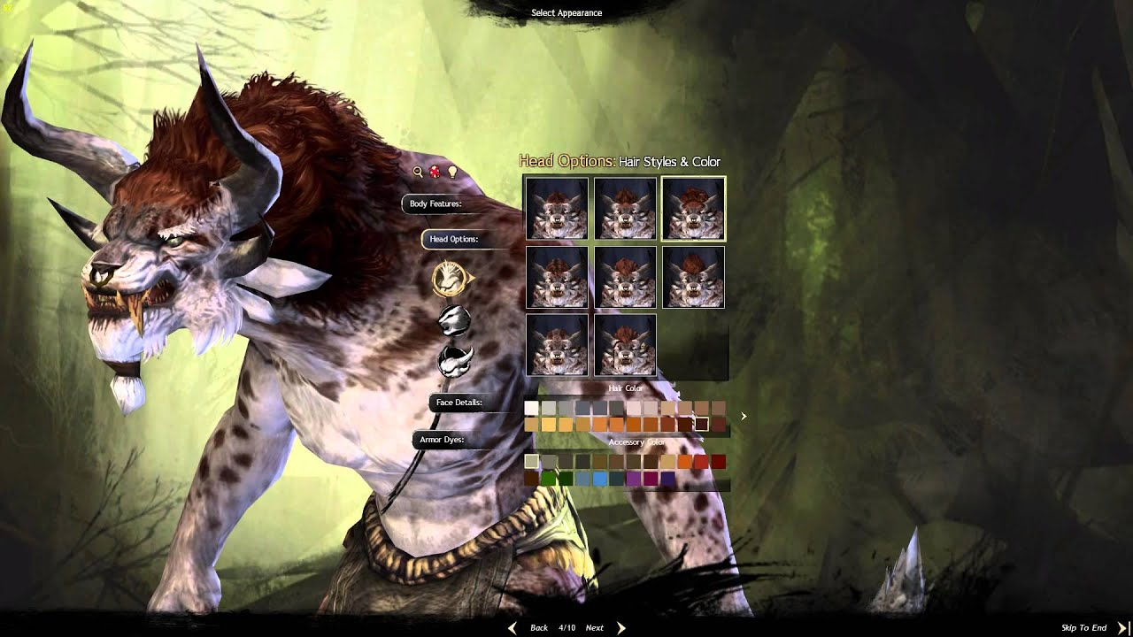 Guild Wars 2 - Character Creation Charr Male