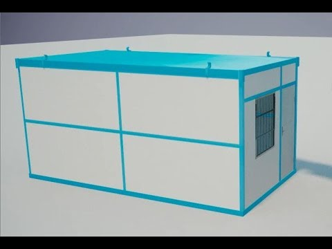 custom ready made living flat pack folding fabricated container house