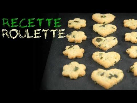 Recette : Sablés huile d'olive et basilic !