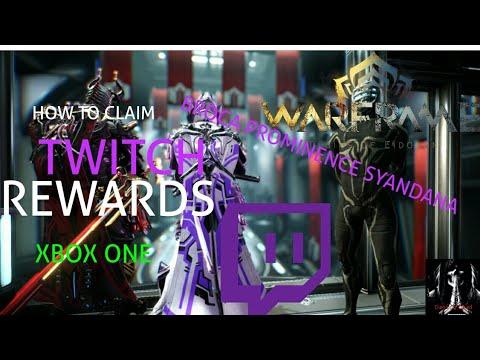 Warframe | HOW TO CLAIM TWITCH REWARDS (Xbox One)