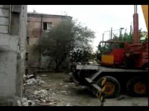 CRANE IN ARMENIA, LIEBHERR LTM 1050-4  ФЕРМА