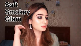 2nd Day EID MAKEUP LOOK | SOFT SMOKEY EID MAKEUP |