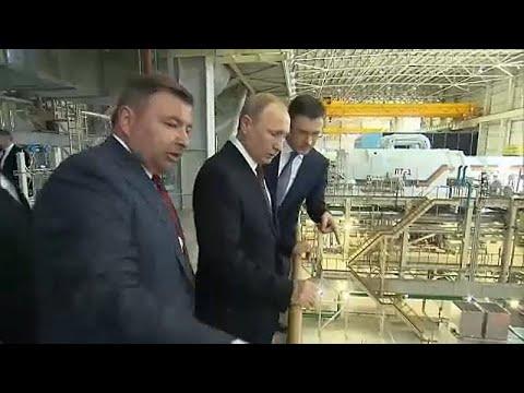 Putin en Crimea a los cinco años de la anexión