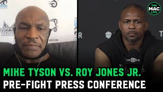 Mike Tyson vs. Roy Jones Jr. Pre-Fight Press Conference Highlights