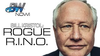 Rogue R.I.N.O. Bill Kristol Plots Anti-Trump Primary
