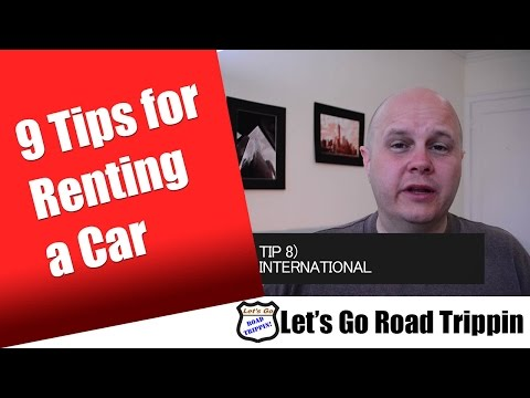 9 Tips for Car Rentals