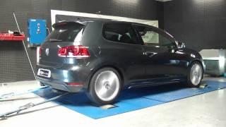 * Reprogrammation Moteur * VW Golf 6 gtd 170cv @ 202cv dyno digiservices