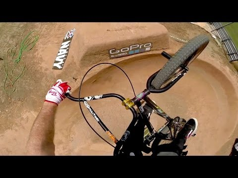 """GoPro: """"Hucker's"""" BMX Dirt Course Preview - 2014 Summer X Games Austin"""