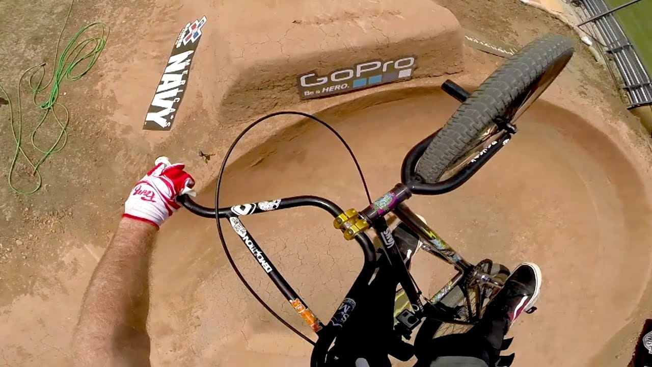 GoPro quotHuckersquot BMX Dirt Course Preview 2014 Summer XX Games Bmx Dirt