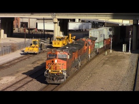 Railfanning Kansas City 1/26/14 [HD]