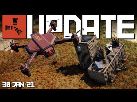 NEW! How the drone shop works | Rust update 30th January 2021