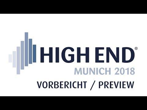 HIGH END 2018 - Die internationale HiFi-Messe im MOC München / Abwechslungsreiches Messeprogramm