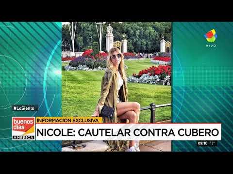Demanda de Nicole Neumann a Fabian Cubero