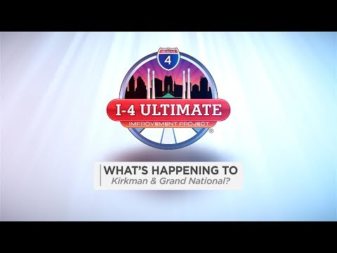 I-4 Ultimate: What's Happening to Kirkman Road?