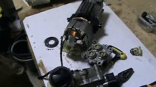 Karcher  ремонт не включается мойка что делать, замена масла
