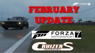 February Forza 7 update: Everthing You Need to Know