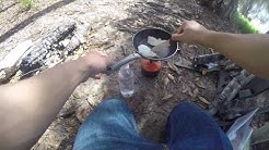 Crappie Catch and Cook Jacksonville Florida ! A day in the woods