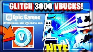 3000 VBUCKS AVEC un GLITCH! Répétable!!! MARSHMELLO WORLD CUP CONCERT! (FORTNITE SAISON 9)