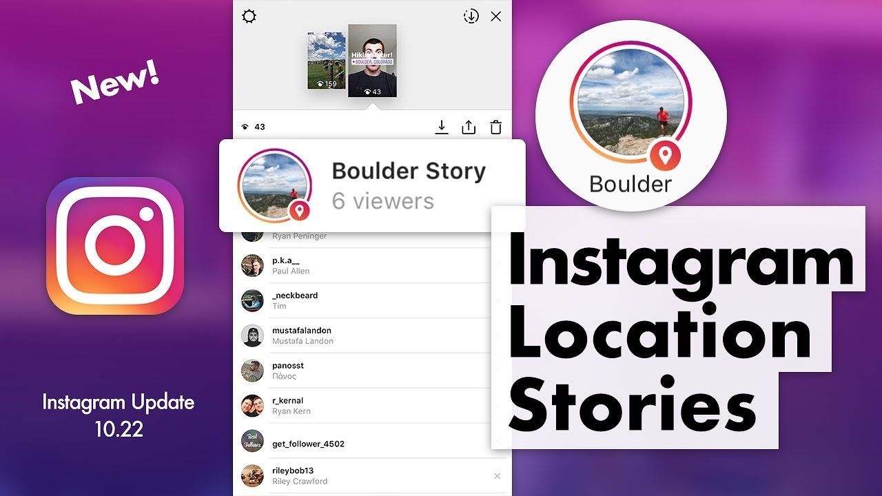 How to Use Instagram Location Stories