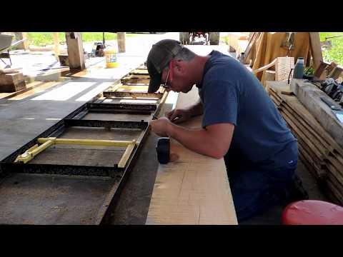 A Timber Frame Vlog #24: Some More Timber Framing Layout