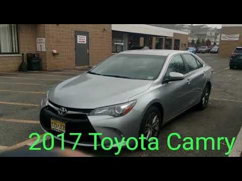 2017 Toyota Camry Remote Start System