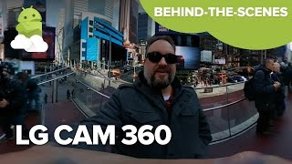 BTS with the LG CAM 360