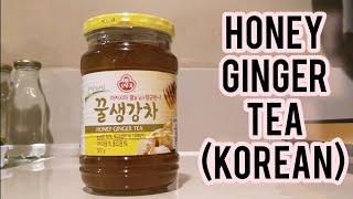 Korean Honey Ginger Tea 꿀생강차 H…