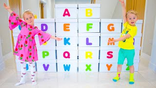 Learn the English Alphabet with Gaby and Alex