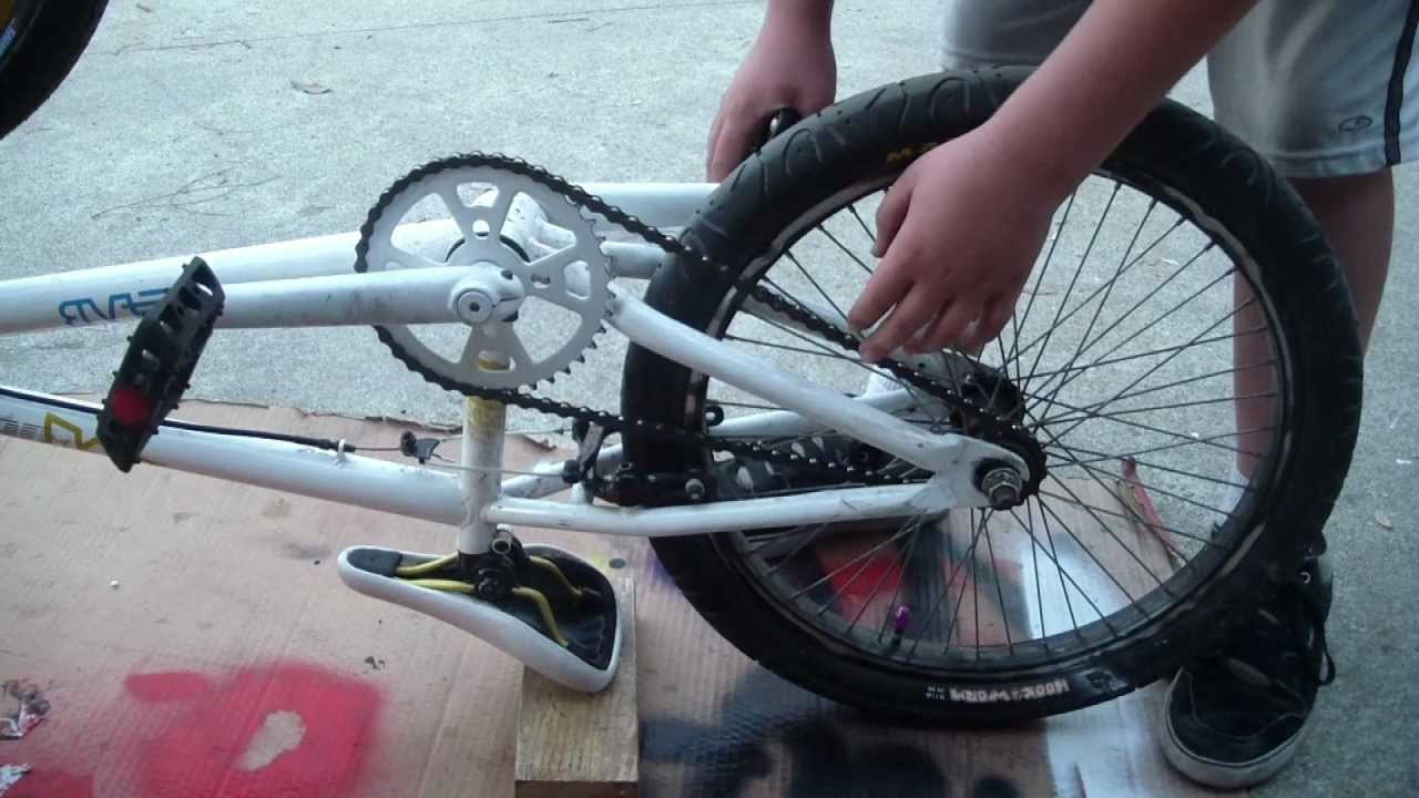maxresdefault how to tighten the chain on a bmx bike youtube