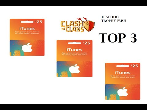 Clash Of Clans ITunes Card Giveaway