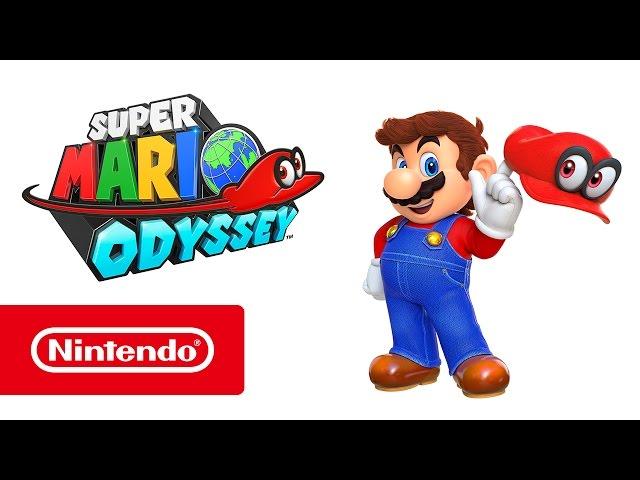 Super Mario Odyssey Nintendo Switch Trailer Youtube