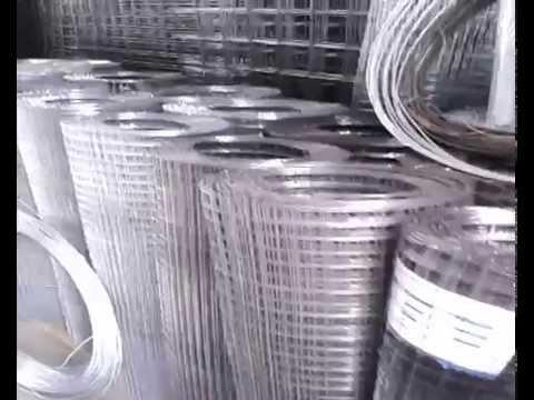 Видео Оцинкованная сетка рабица в оороде