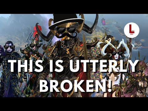 THIS IS BROKEN! Everyway to exploit the Dark Elves Economy in Total War Warhammer 2  