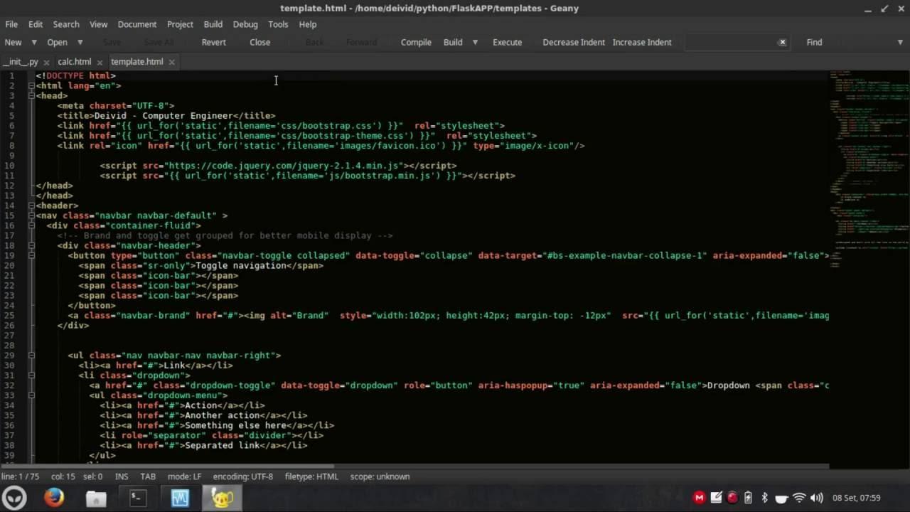 Geany - Dark Theme and Colorschemes - Tutorial - Xubuntu